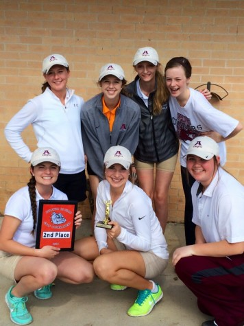 Lady Cougar Golf Team Place Second At Sulphur