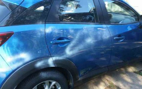 Teacher's car vandalized over weekend