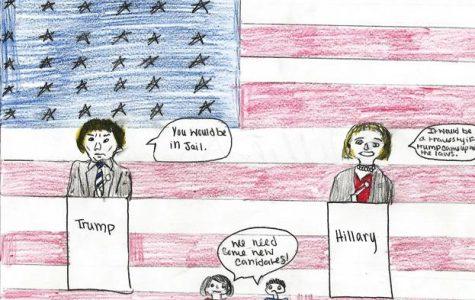 Ada High Classes Create Political Cartoons