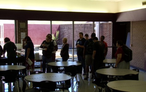 Students lead movement to open gym during lunch