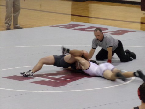 Ada High Wrestling Hosts Sr. Night, Competes in Mid-West Conference Tournament