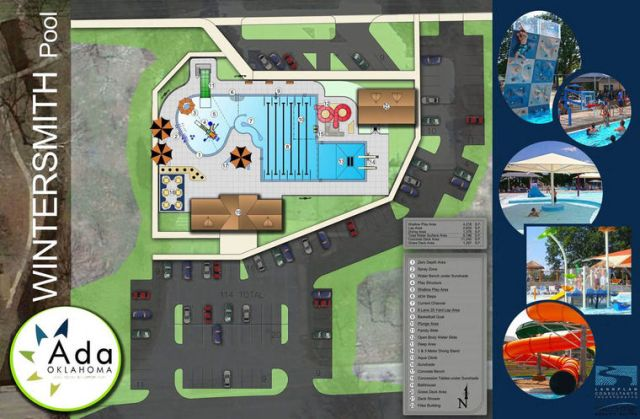 Penny for our City included funds to renovate the pool at Wintersmith Park.
