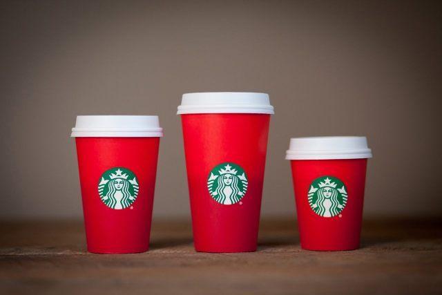 Starbucks coffee cup causes quite a stir