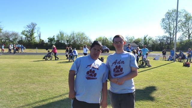 Austin Gibson and Nathan Leighton