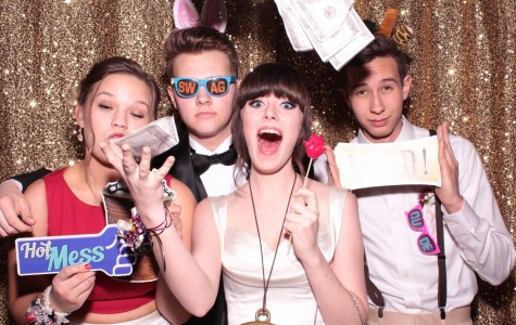 Prom isn't lit until money is flying around, and bunny ears are worn.