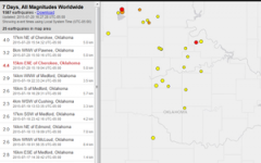 The USGS releases initial earthquake findings.