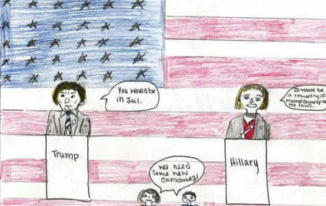 Ada High Classes Create Political Cartoons