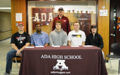 Ada athletes sign to play college sports
