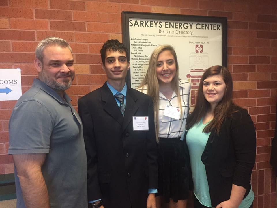 Ada High students participate in Regional Ethics Bowl competition.