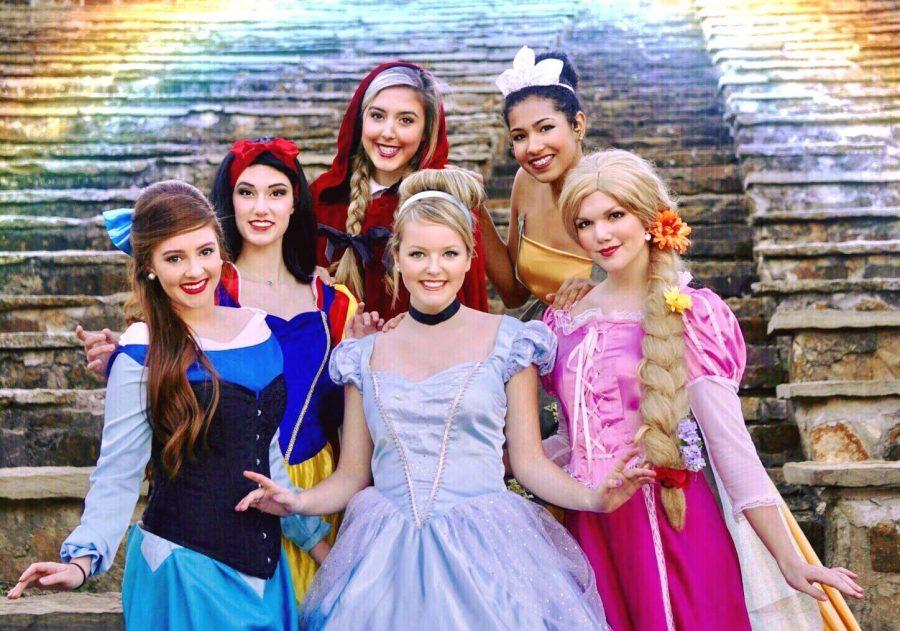 All of the magical Princesses