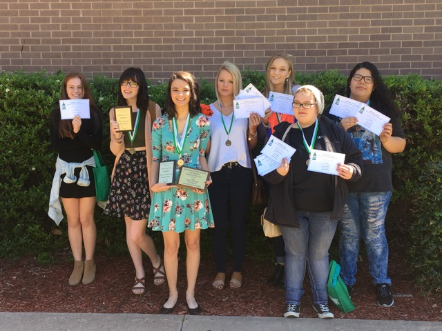 Journalism staff journeys to competition