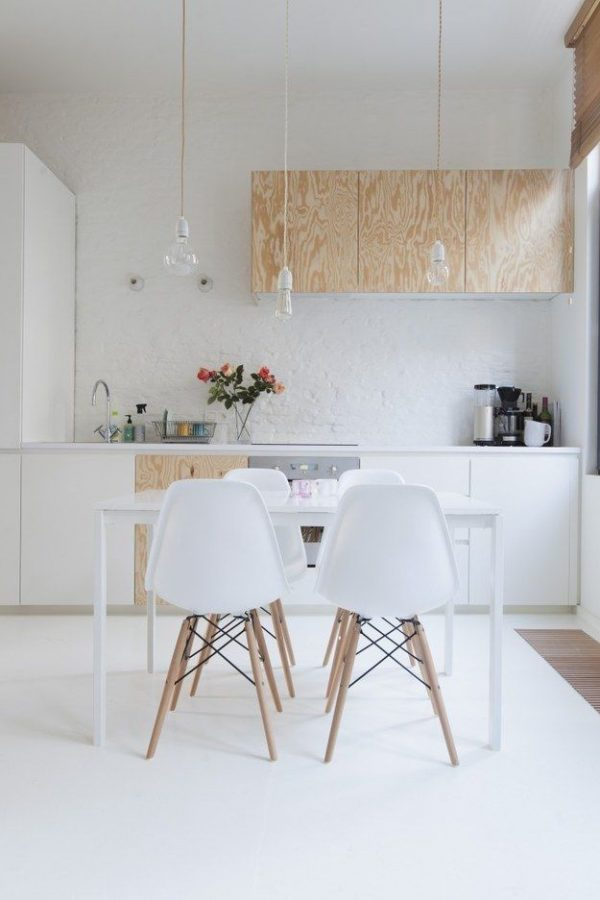 Minimalist kitchen.