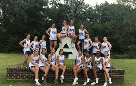 The Ada High cheerleaders pose for one last photo before heading off to cheer camp, not knowing they will be returning with a bid to the 2018 NCA All-Star National Competition in Dallas, Texas.
