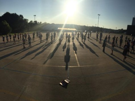 Ada High band prepares for first competition of season