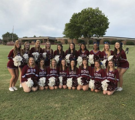 Ada High Cheer squad