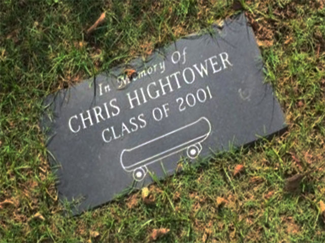 Chris Hightower was a member of the Class of 2001. At the time of publication, no additional information could be found.