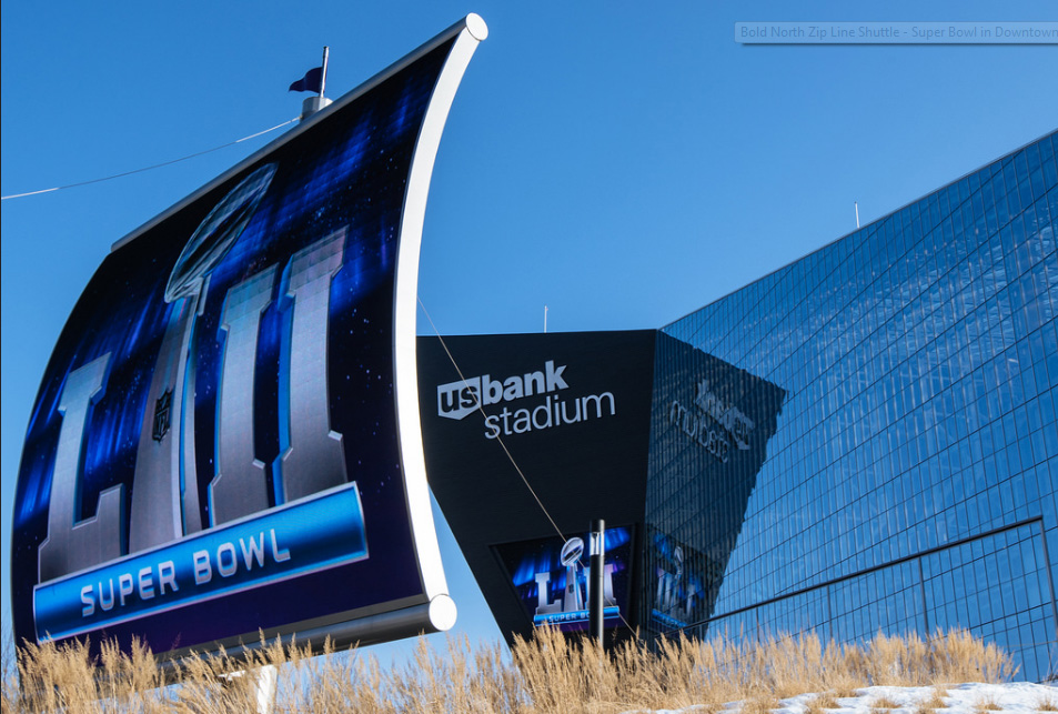 Super Bowl LII is to be played Feb, 4th at the U.S. Bank Stadium in Minneapolis, MN.
