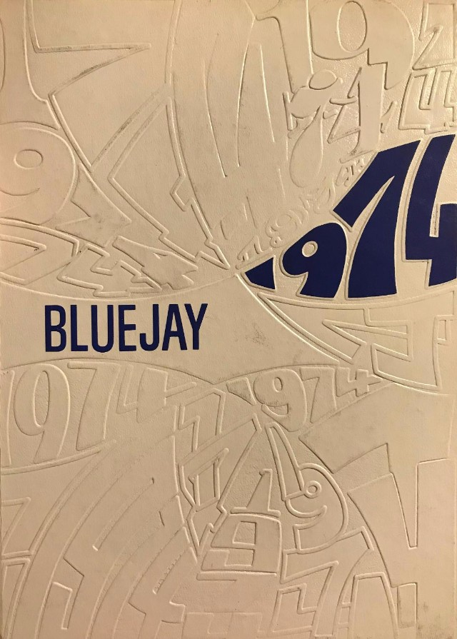 Ada High 1974 Blue Jay yearbook