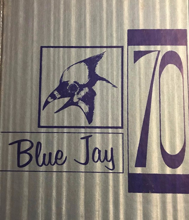 Ada Junior High Blue Jay 1970 Yearbook