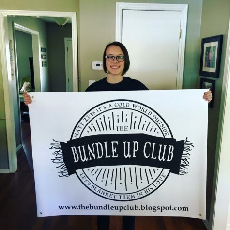 The Bundle Up Club,  started by Maddie and Morgan Manning, recently received official 501C3 status as a federally recognized non-profit organization.