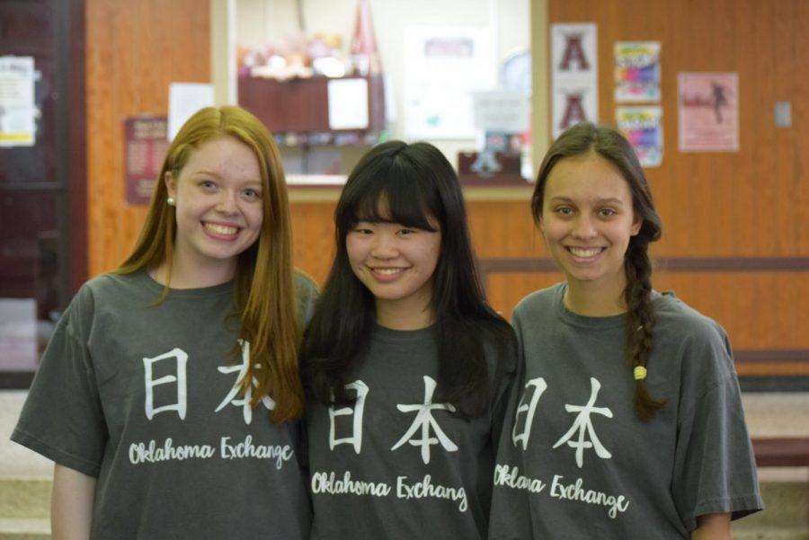 Olivia Ballard, Bri Iorga and China Wong