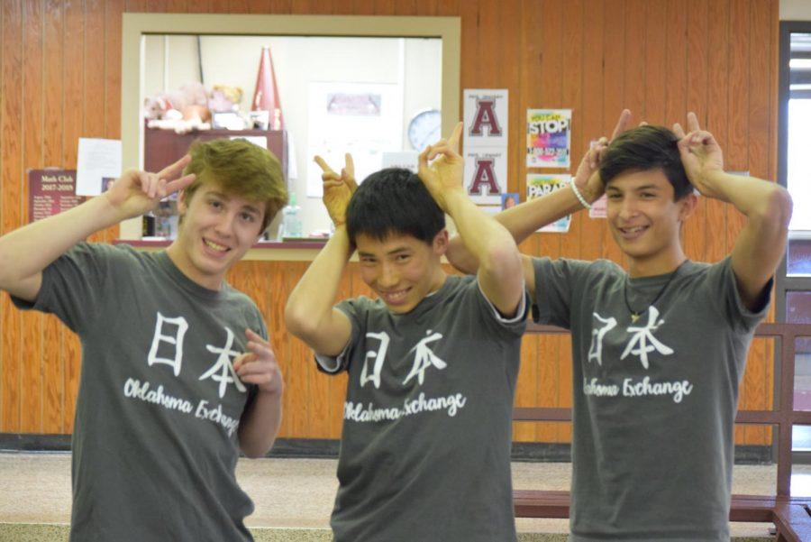 Daniel Gutierrez, Hunter Wilson and Gensuke Mashiko
