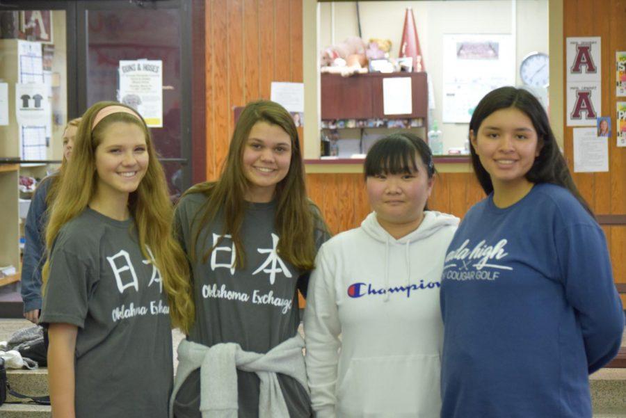 Lauren John, Hannah Price and Miku Kamogawa