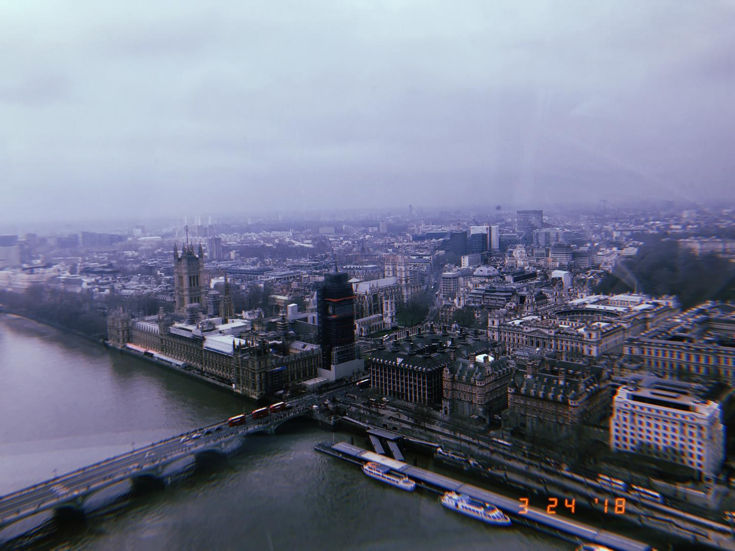 When the London Eye debuted in 2000, it became known as the world's largest ferris wheel. Located along the south bank of the Thames River, the view from the top of the London Eye offers an unimpeded view the city.