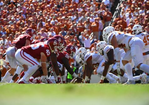 NCAA College Football:  University of Texas vs. University of Oklahoma NCAA College Football:  University of Texas vs. University of Oklahoma Cotton Bowl/Dallas, TX, USA 10/08/2016 SI-588 TK1 Credit: Greg Nelson