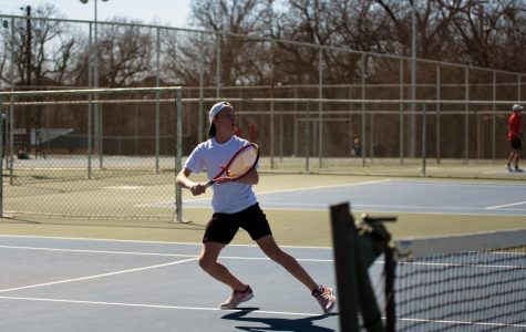 Men's tennis takes 2nd at home