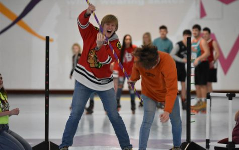 RUSH Week skate party