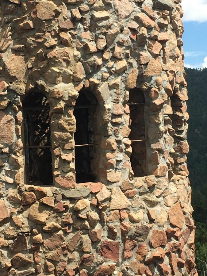 I took this photo because the man that made this stone castle built it only by hand. It was amazing and looked beautiful.