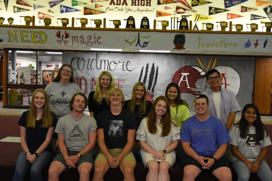 Ada High School announces homecoming  candidates
