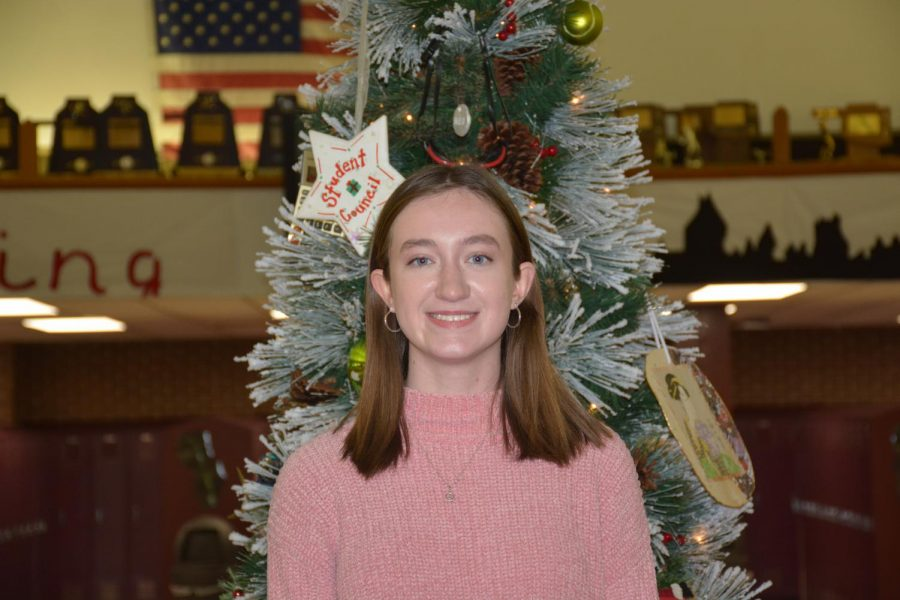 """For Christmas we always go to my grandmother's house to open presents. I love the lights around Christmas time."" Cait Gurley"