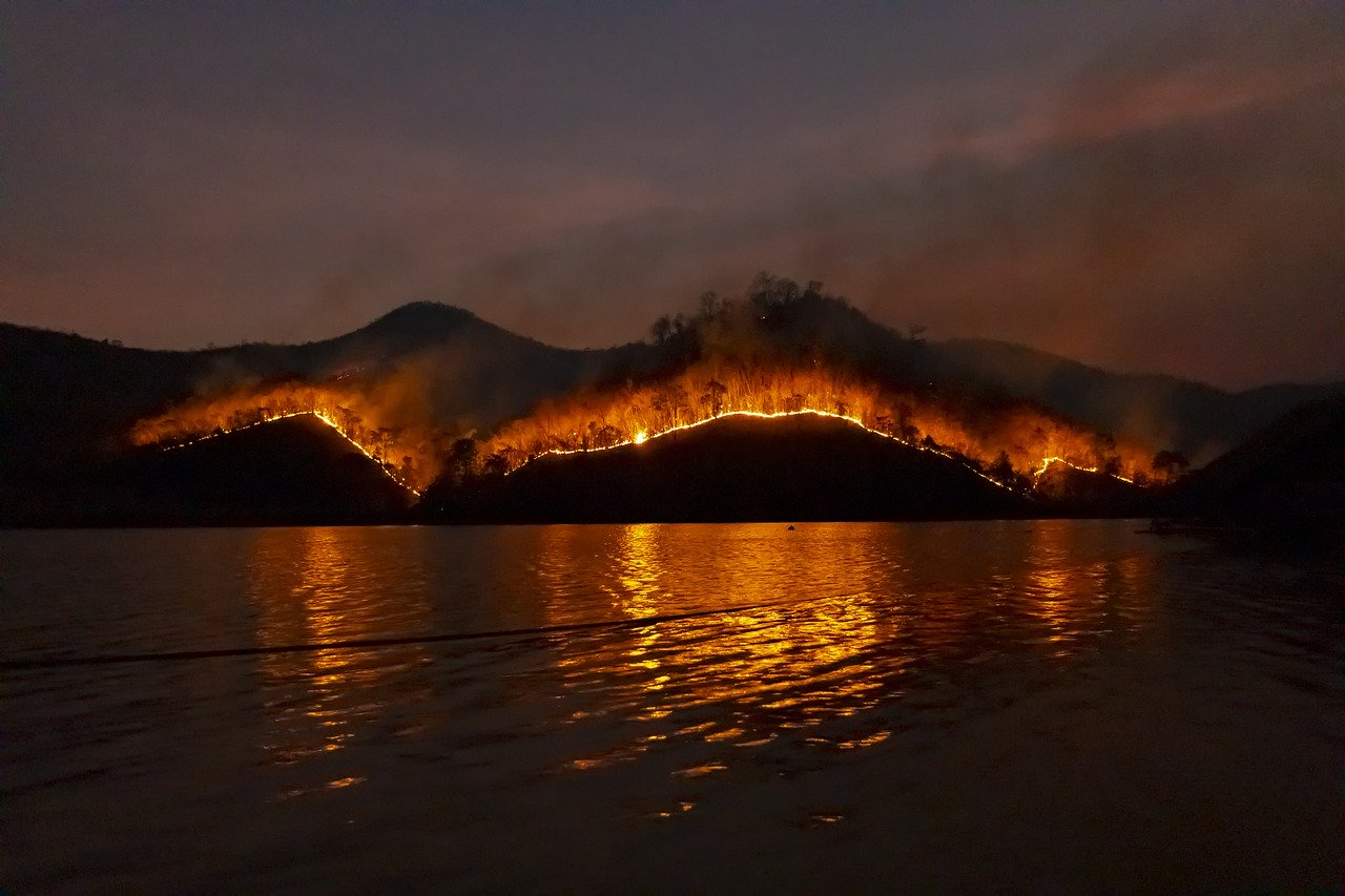 Millions of acres in Australia are being consumed by hundreds of wildfires.